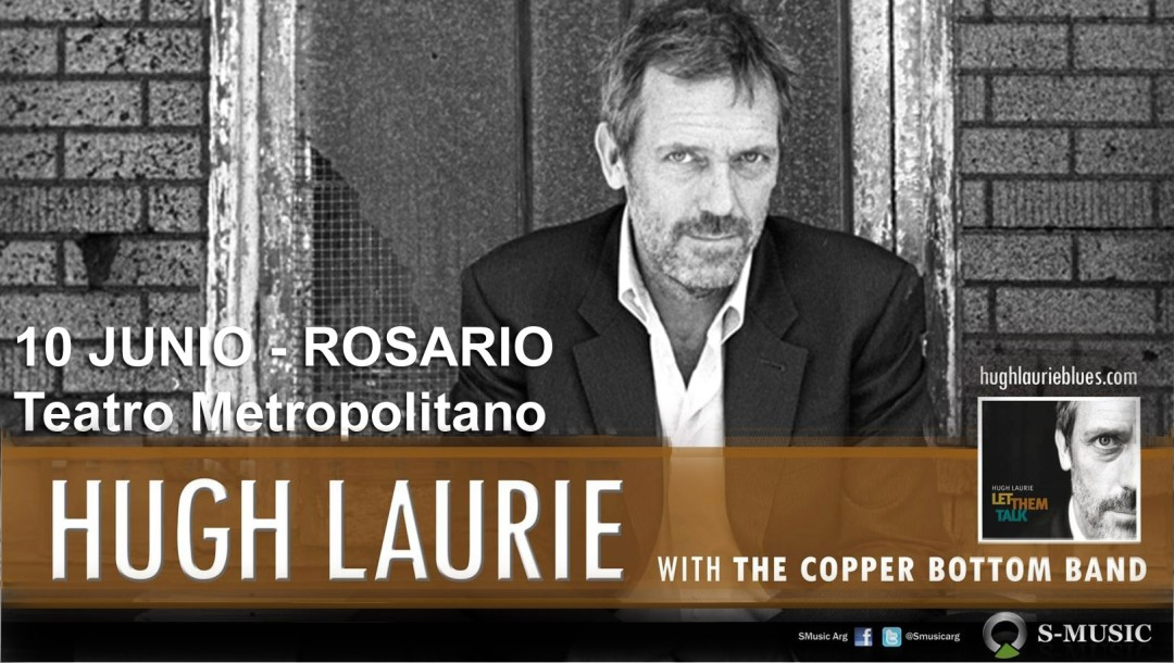 Hugh Laurie presenta Let them Talk