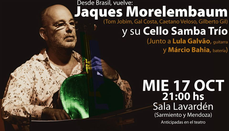 Jaques Morelenbaum Cello samba trío